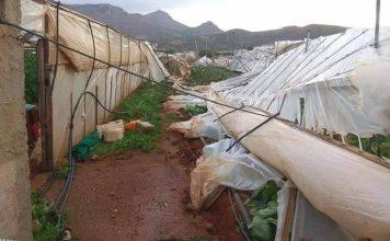 Κρήτη: Καταστροφές από ανεμοστρόβιλο σε θερμοκήπια και καλλιέργειες