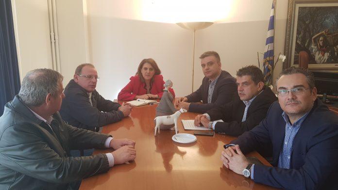 Με Αραχωβίτη, Κόκκαλη και Τελιγιορίδου συναντήθηκαν εκπρόσωποι των γεωπόνων