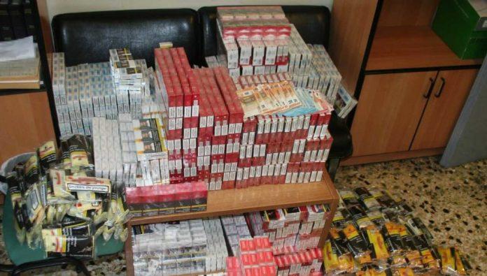 Καβάλα: Σύλληψη 49χρονου και κατάσχεση σχεδόν 2000 πακέτων λαθραίων τσιγάρων