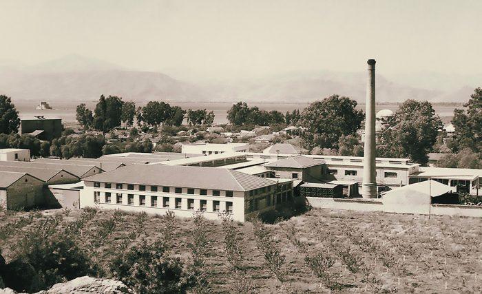 Το εργοστάσιο της βιοµηχανίας κονσερβών ΚΥΚΝΟΣ στο Ναύπλιο