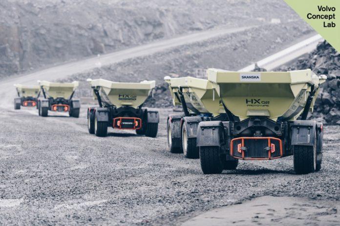 Μείωση εκπομπών άνθρακα κατά 98% στο Electric Site Project VOLVO και SKANSKA