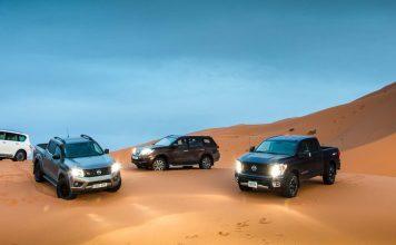 Τα Nissan Patrol, Navara, TITAN και Terra «δαμάζουν» την έρημο της Σαχάρας.