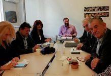 Το ροδάκινο στο επίκεντρο της συνάντησης Αραχωβίτη με βουλευτές από την Κ. Μακεδονία