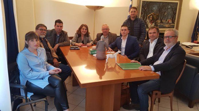Συνάντηση Τελιγιορίδου με κτηνοτρόφους Λιβαδειάς, Φλώρινας, Κυκλάδων και Αργοσαρωνικού