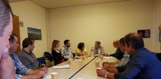 Συνάντηση στο ΥΠΑΑΤ με εκπροσώπους αγροτών της Λέσβου