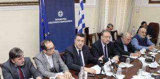 Θεσσαλονίκη: Σύσκεψη για το παρεμπόριο παρουσία Πιτσιόρλα, Αυλωνίτη και Τζιτζικώστα