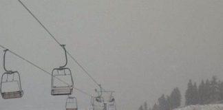 Χιόνια στον Χελμό - Στα λευκά και το χιονοδρομικό κέντρο