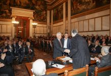 Η Ακαδημία Αθηνών βράβευσε τον Αναπληρωτή Καθηγητή του Τμήματος Γεωλογίας, Βασίλειο Μέλφο
