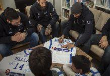 Η Eurobank και η Εθνική μπάσκετ στο χριστουγεννιάτικο γεύμα αγάπης του Παιδικού Χωριού SOS Βάρης