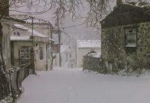 Κλειστά τα σχολεία Σουφλίου από το χιόνι, προσοχή στις μετακινήσεις στο δίκτυο του Β. Έβρου