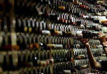 Μπουκάλια με κρασί