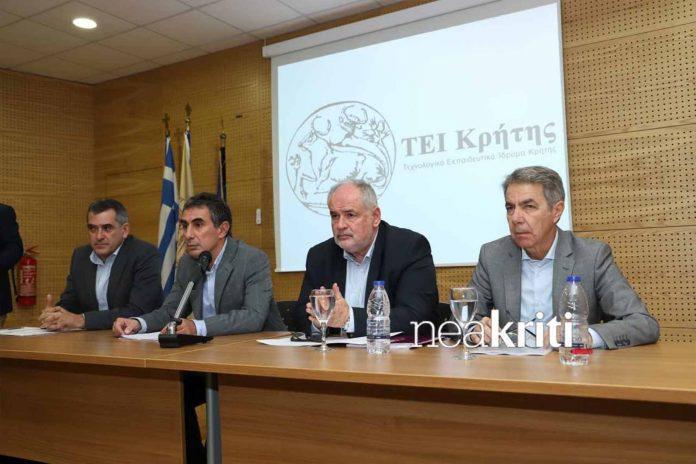 Παρουσίαση δράσης από τον Κώστα Φωτάκη για την Έρευνα στον Αγροδιατροφικό Τομέα της Κρήτης
