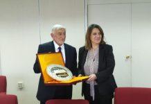 Συμμετοχή Τελιγιορίδου στην 1η σε Υπουργικό επίπεδο διμερή σύνοδο Ελλάδας και Παλαιστίνης.