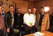 Συνάντηση Αραχωβίτη με αμπελουργούς και ελαιοπαραγωγούς της Κρήτης