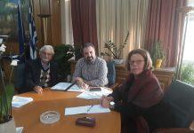 Συνάντηση Αραχωβίτη με αντιπροσωπεία της «Πελοπόννησος Οικολογική»