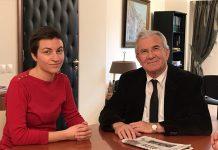 Συνάντηση Γ. Δημαρά με την Επικεφαλής των Ευρωπαίων Πρασίνων