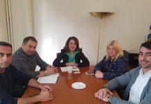Συνάντηση Τελιγιορίδου με Ανθοπαραγωγικό Συνεταιρισμό Αθηνών