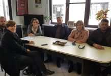 Συνάντηση Τελιγιορίδου με μέλη του ΑΣ Ημαθίας για τις αποζημιώσεις των ροδακινοπαραγωγών
