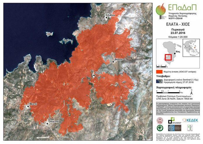 Η βραβευμένη εφαρμογή του ΑΠΘ για τη χαρτογράφηση των καμένων εκτάσεων και την αξιοποίηση των δασών