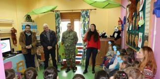 Ο Αγροτικός Συνεταιρισμός Ζαγοράς στον βρεφονηπιακό σταθμό της 1ης Στρατιάς