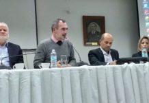 Αίγιο: Πραγματοποιήθηκε η ημερίδα της Π.Ε.Σ. για την ελαιοκαλλιέργεια με τη συμμετοχή και του ΓΕΩΤ.Ε.Ε.