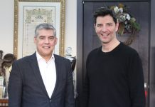 Στον Κώστα Αγοραστό ο Σάκης Ρουβάς - Συζήτησαν για την επιχείρησή του στην Καρδίτσα