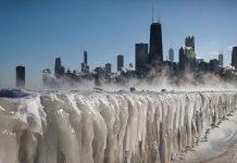 Πάγωσαν Νέα Υόρκη και Σικάγο - Θερμοκρασίες μέχρι -50 °Κελσίου και ήδη 9 νεκροί