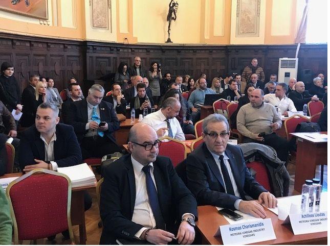 Στη Ρουμανία για την προώθηση των προϊόντων της Ε.Α.Σ. Τρικάλων ο Αχιλλέας Λιούτας