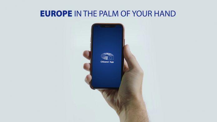 Η Ευρώπη στην παλάμη του χεριού σας: Παρουσίαση της εφαρμογής Citizens