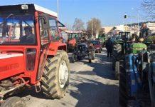 Κλείσιμο της Εθνικής Οδού Πατρών-Κορίνθου το απόγευμα από τους αγρότες της Αιγιάλειας