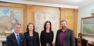 Η Συμφωνία Ελεύθερου Εμπορίου θέμα συζήτησης στη συνάντηση Αραχωβίτη με αυστραλιανή αντιπροσωπεία