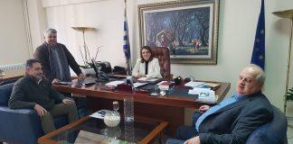Συνάντηση Τελιγιορίδου με το Δήμαρχο Πρεσπών για Σχέδια Βόσκησης του Δήμου Πρεσπών