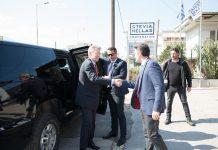 Επίσκεψη του πρέσβη των ΗΠΑ Geoffrey Pyatt, στο Συνεταιρισμό Στέβιας στην Λαμία