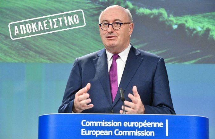 Φιλ Χογκαν: Πρωτοπόρος η Ελλάδα στην ΕΕ μετά την προκήρυξη του ψηφιακού μετασχηματισμού του αγροτικού τομέα