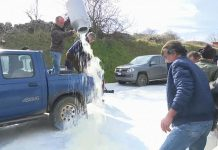 Η ποδοσφαιρική ομάδα Κάλιαρι στηρίζει τις κινητοποιήσεις των κτηνοτρόφων της Σαρδηνίας