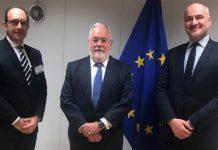 Συνάντηση της διοίκησης του ΣΒΕ με τον Επίτροπο της Ευρωπαϊκής Επιτροπής για θέματα Ενέργειας