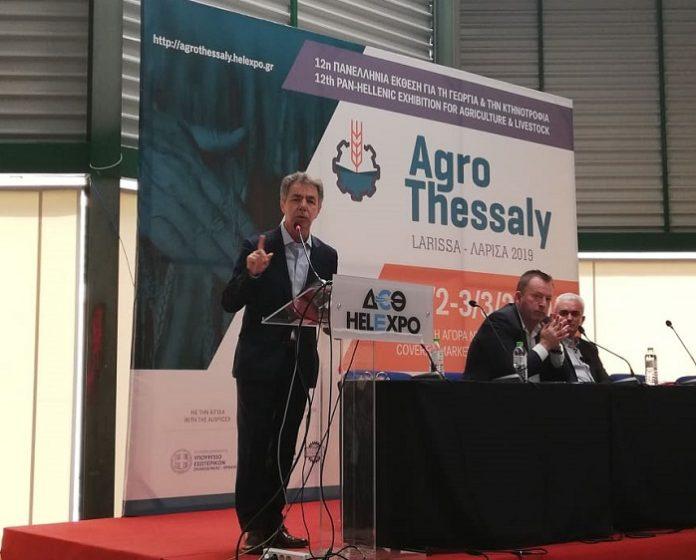 Για τη νέα ΚΑΠ και τα χρηματοδοτικά εργαλεία των αγροτών μίλησε ο Χ. Κασίμης στην 12η Agrothessaly