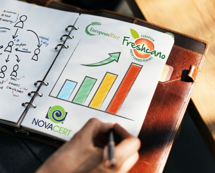 Novacert: Τρία νέα προγράμματα προώθησης εξαγωγών ρυζιού και ροδάκινου κονσέρβας