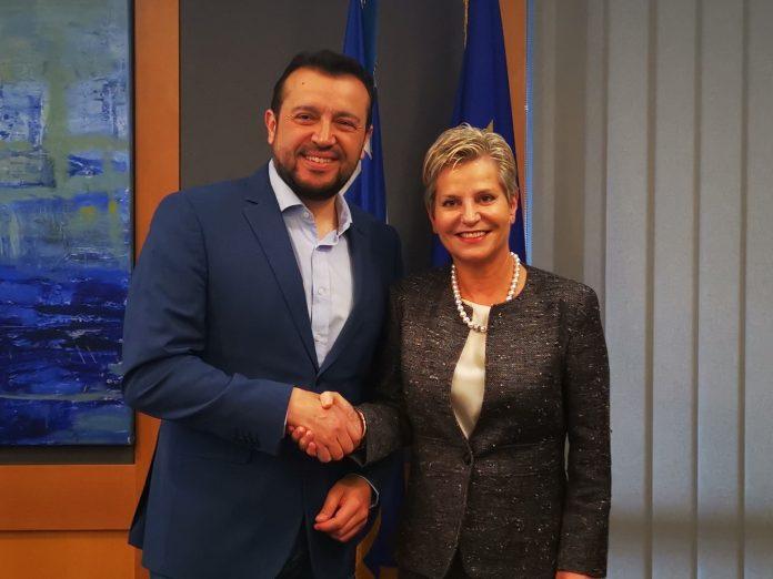 Ν. Παππάς: Ελλάδα και Κύπρος ενισχύουν τους δεσμούς τους στον ψηφιακό τομέα
