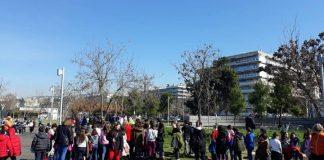 Θεσσαλονίκη: Δεντροφύτευση από μαθητές στη Νέα Παραλία
