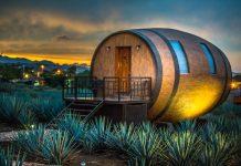 Δωμάτια σε σχήμα βαρελιού τεκίλας προσφέρει ξενοδοχείο στην ομώνυμη πόλη