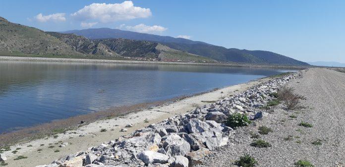 Εμπλουτίζεται με νερό ο νέος ταμιευτήρας στο Καστρί του Δήμου Αγιάς