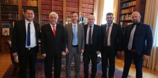 Με τον Πρόεδρο της Δημοκρατίας συναντήθηκε το προεδρείο της ΠΕΝΑ
