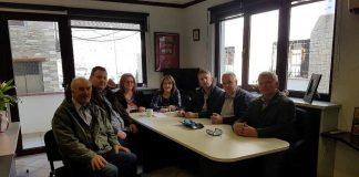 Συναντήσεις Τελιγιορίδου με φορείς της Δυτ. Μακεδονίας στο γραφείο της στην Καστοριά