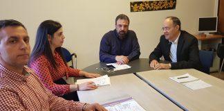 Συνάντηση Αραχωβίτη με τον βουλευτή Χίου, Α. Μιχαηλίδη, για το φράγμα Κόρης Γεφύρι