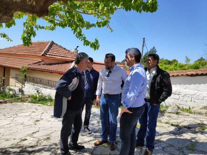 Σε χωριά της Θεσπρωτίας για την «Καθολική Τηλεοπτική Κάλυψη» ο Νίκος Παππάς