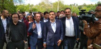 Μείωση της φορολογίας των οργανωμένων ομάδων παραγωγών ζήτησαν από τον Τσίπρα οι αγρότες του Βελβεντού