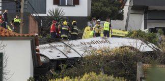 Στους 29 νεκρούς αυξήθηκε ο απολογισμός του τροχαίου στη νήσο Μαδέρα της Πορτογαλίας