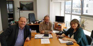 Συνάντηση της υφυπουργού ΑΑ&Τ με τη διοίκηση του ΕΛΓΟ για