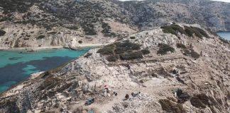 Αρχιτεκτονικά λείψανα Πρωτοκυκλαδικού οικισμού αποκαλύφθηκαν στην Κέρο